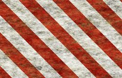 Candy Cane Grunge Abstract Wallpaper. In Red and White Stripes vector illustration
