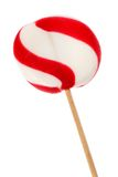 Candy cane lollipop Stock Photo