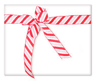 Candy Cane Present Royalty Free Stock Images