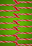 Candy cane stitch Stock Images