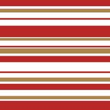 Candy cane stripe with gold Royalty Free Stock Image