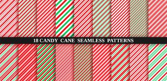 Free Candy Cane Stripe Seamless Pattern. Christmas Texture. Vector Illustration Royalty Free Stock Photos - 191732708