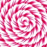 Candy cane sweet spiral abstract background Royalty Free Stock Images