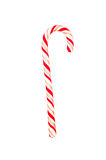 Candy cane on white Royalty Free Stock Image
