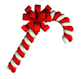 Candy cane on white background Royalty Free Stock Photo
