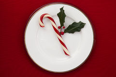 Candy cane Stock Image