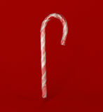 Candy cane in wrapper Royalty Free Stock Photos
