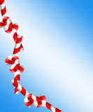 Candy Cane Yum. Digital made candy cane image vector illustration