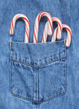 Candy canes Royalty Free Stock Images