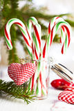 Candy Canes Royalty Free Stock Photography