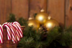 Candy canes Royalty Free Stock Photos