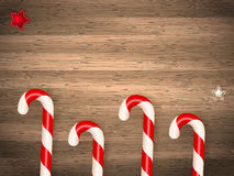 Candy canes. EPS 10 Stock Photography