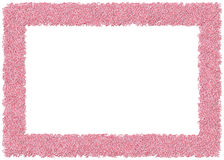 Candy Canes Frame Royalty Free Stock Photography