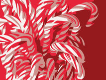 Candy Canes Illustration Royalty Free Stock Photos