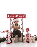 Candy Canes for Sale Stock Image