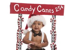 Candy Canes for Sale Royalty Free Stock Photos