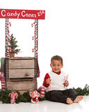 Candy Canes for Sale Royalty Free Stock Image