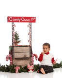 Candy Canes for Sale Stock Images