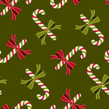 Candy canes wallpaper pattern Stock Photos