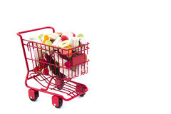 Candy Cart Stock Image