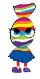 Candy cartoon Royalty Free Stock Photo