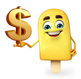 Candy Character With dollar sign Royalty Free Stock Photo