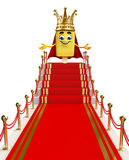 Candy Character is king Royalty Free Stock Photos