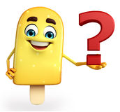 Candy Character With question mark Stock Image