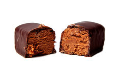 Candy with cheese and chocolate Stock Image