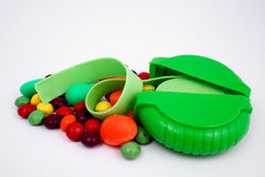 Candy and chewing gum Royalty Free Stock Images