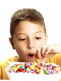 Candy child. Stock Photo