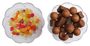Candy and chocolate Royalty Free Stock Images