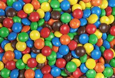 Candy chocolate multicolor background Stock Photos
