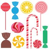 Candy. Chocolate. Vector illustration (EPS 10 Royalty Free Stock Images