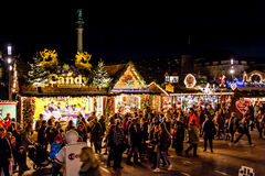 Candy at the Christmas Market Royalty Free Stock Images