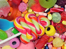 Candy  Lollipop Mixture Royalty Free Stock Photos