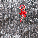 Candy christmas ornament Royalty Free Stock Images