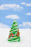 Candy Christmas Tree Stock Photography