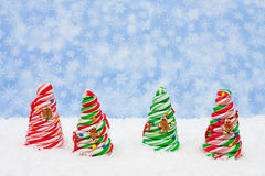 Candy Christmas Tree Royalty Free Stock Photography
