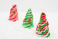 Candy Christmas Tree Royalty Free Stock Photos