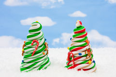 Candy Christmas Tree Stock Images