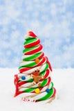 Candy Christmas Tree Stock Photos