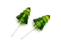 Candy christmas tree. Lollipop 2015 Stock Image