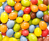 Candy coated peanuts Royalty Free Stock Images