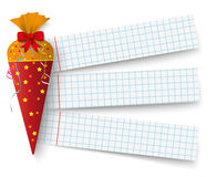 Candy Cole Checked Paper Royalty Free Stock Images