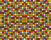 Candy color mosaic Tiles Stock Photo
