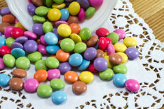 Candy-colored background Stock Photography
