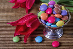 Candy-colored background Royalty Free Stock Images