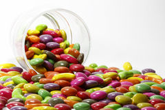 Candy. Colored candy in a big pile Royalty Free Stock Images