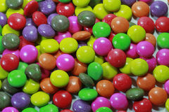 Candy. Colored candy in a big pile Stock Image